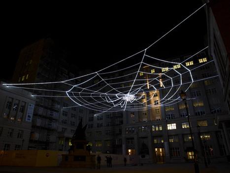 The Web of Light by Ai Weiwei | Art Installations, Sculpture, Contemporary Art | Scoop.it
