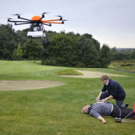 This Drone Could Save Heart-Attack Victims' Lives [VIDEO]   innovation  idées start up   Scoop.it