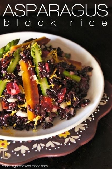 #HealthyRecipe / Lemon Black Rice Spring Salad | la fin du yoyo | Scoop.it