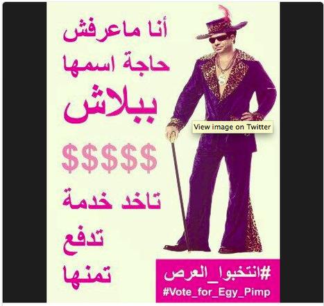 13 #memes around Sisi's presidential bid | #Egypt #cyberculture #politics | e-Xploration | Scoop.it