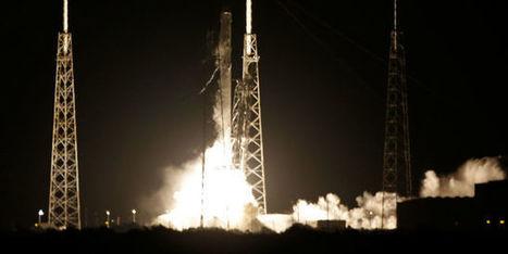 Le vaisseau Dragon de SpaceX lancé vers l'ISS | Vous avez dit Innovation ? | Scoop.it