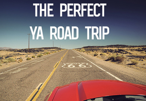 7 YA Road Trip Maps to Help You Plan the Perfect Road Trip | 21st Century School Libraries | Scoop.it