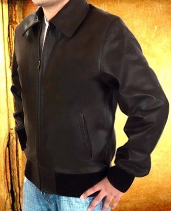 Happy Days Fonzie Jacket   Brown Happy Days Fonzie Leather Costume   Scoop.it