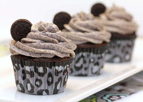 Death By Oreo Cupcakes | I want yummy cupcakes | Scoop.it