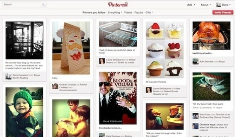 The Curation-Over-Creation Trend That Fueled Pinterest's Rapid Growth | EDTECH - DIGITAL WORLDS - MEDIA LITERACY | Scoop.it
