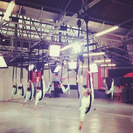 Twitter / StellaMcCartney: Aerial yoga puts our new #adidas ... | Yoga | Scoop.it