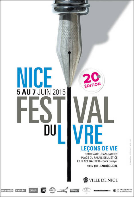 The 2015 Nice Book Festival Going to be a Real Page Turner - Riviera Buzz   Curating the Curatable   Scoop.it