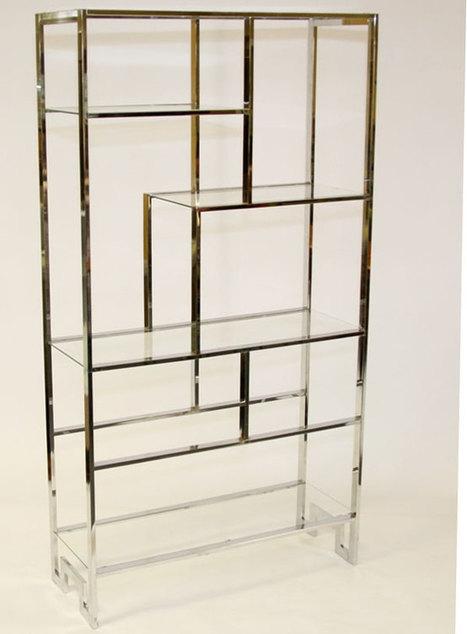 Vintage Milo Baughman Shelving Unit | Storage Solutions | Scoop.it