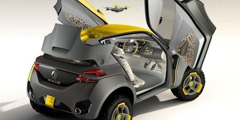 Renault imagine une voiture munie d'un drone | Post-Sapiens, les êtres technologiques | Scoop.it