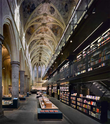 The World's 6 Coolest-Looking Bookstores   Bibliothèques innovantes   Scoop.it