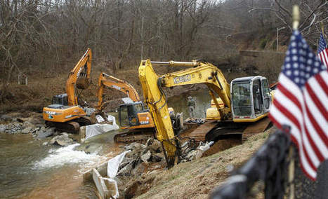 Dam removal: Restoring the flow in Franklin County - Roanoke Times | Fish Habitat | Scoop.it