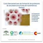 Curso iberoamericano de formación de profesores de secundaria en el área de matemáticas Ñandutí - Red de la Organización de Estados Iberoamericanos | CienciadelaOEI | Scoop.it