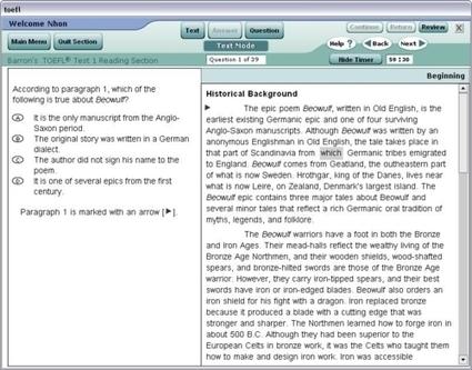 Barron's TOEFL iBT 12th Edition [CD-ROM] – the best TOEFL iBT software (Free download) | development | Scoop.it