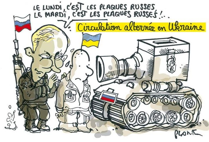 Circulation alternée en Ukraine   Baie d'humour   Scoop.it
