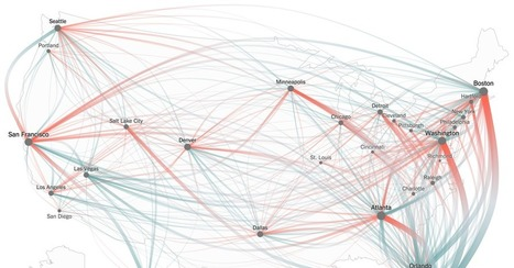 Thanksgiving Flight Patterns | Social Network Analysis #sna | Scoop.it