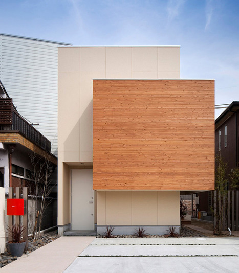 horibe naoko architect office: house in kyobate | Building(s) Homes & Cities | Scoop.it