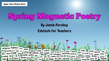 Spring Magnetic Poetry | Reading and Writing in primary school | Scoop.it