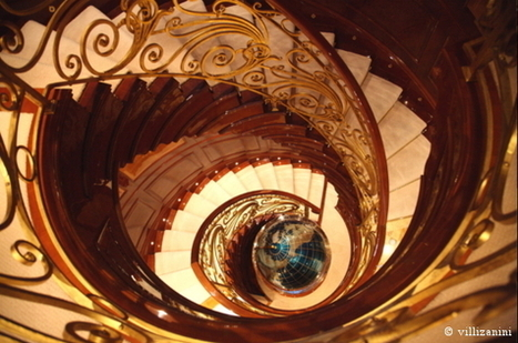Designing a circular wrought iron banister | I go out to write a post and go back | Villi Zanini Wrought Iron | Scoop.it