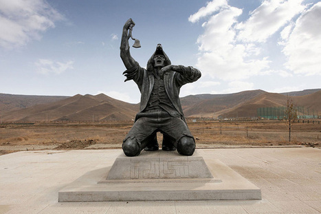 Remarkable Half Man-Half Wolf Sculpture in Mongolia | The Mongols | Scoop.it