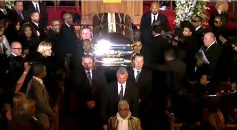 Whitney Houston's Funeral: Mourners Pay Tribute On Twitter | Life @ Work | Scoop.it