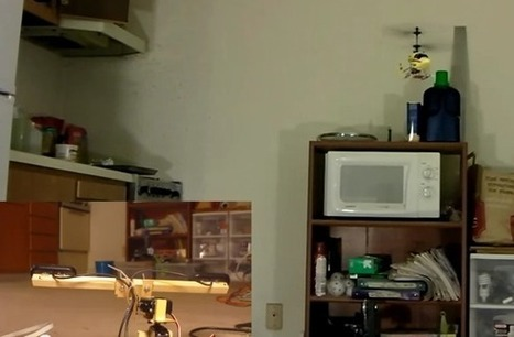 Autonomous helicopter works like a Wii remote | Hackaday | Scoop.it
