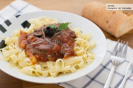 Pasta a la siciliana | Qué se #cocina en la red | Scoop.it