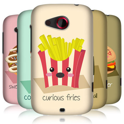 Head Case Designs Food Mood Protective Snap-on Back Case Cover for HTC Desire C   Mobile Phones Stuff   Scoop.it