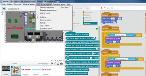 MBlock = une version personnalisée de Scratch qui permet de piloter des robots avec Arduino | Les outils du numérique au service de la pédagogie | Scoop.it