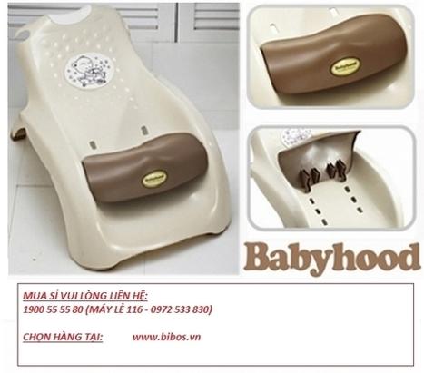 Ghế gội đầu cho bé Babyhood - Bé tắm | Đồ chơi trẻ em Viet Nam | Scoop.it