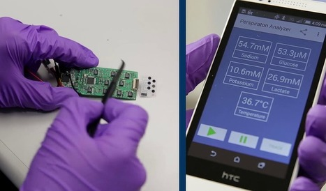 Un 'gadget' para vigilar la salud a través del sudor | Apasionadas por la salud y lo natural | Scoop.it