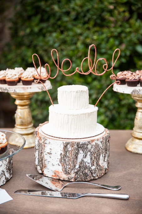 Glitter & Wood – A Rustic Chic So Cal Wedding - Mini Baker | Rustic Chic Wedding | Scoop.it