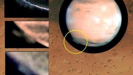 Riesige Mars-Wolken gesichtet | AboutBC - Cultura y Ciencia | Scoop.it