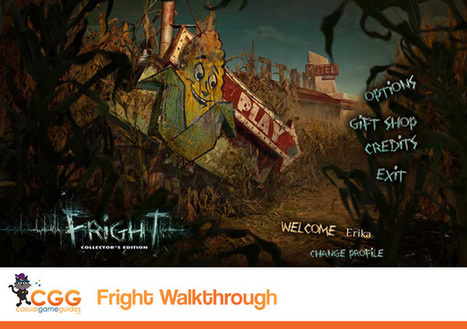 Fright Walkthrough: From CasualGameGuides.com | Casual Game Walkthroughs | Scoop.it