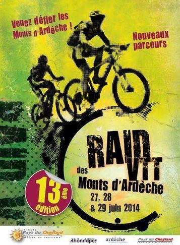 27, 28 et 29 juin Raid VTT des Monts d'Ardèche (Le Cheylard) | C'est déjà le week-end ! | Scoop.it
