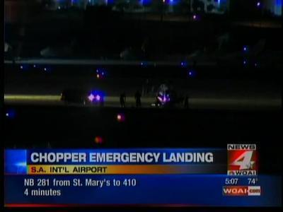 Medical chopper lands on mattresses at SA International Airport - WOAI   Your Healthcare   Scoop.it