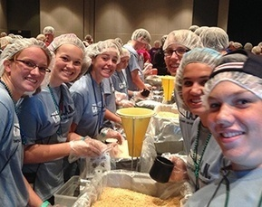 Teens pack 100000 meals for... | Teens And Poverty | Scoop.it