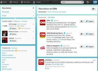 Twitter anuncia cambios en su buscador web, muestra fotos, personas y contexto social | Marketing online y Redes Sociales | Scoop.it