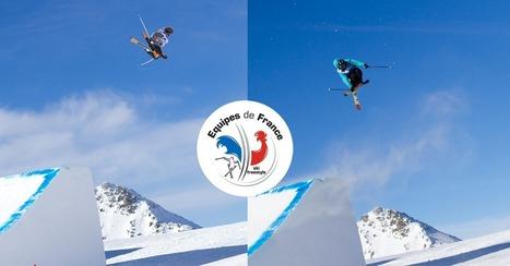 Ski - Equipe de France slopestyle  : ITW Hugo Laugier & Quentin Ladame | Le ski freestyle aux JO | Scoop.it