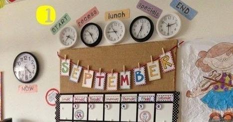 CLUB DE IDEAS | Seguimiento y calendario de aula ~ La Eduteca | FOTOTECA INFANTIL | Scoop.it