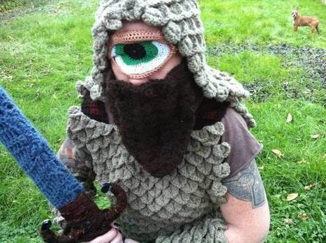 Crocheted cyclops | OK, that's just weird! | Scoop.it