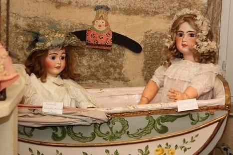Les poupées anciennes de L'Isle sur la Sorgue - Visitez la Provence | Family tourism, outdoor activities - Tourisme en famille, activités de plein air | Scoop.it