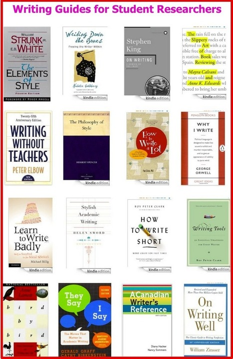 17 Excellent Writing Guides for Academics and Student Researchers | 6-Traits Resources | Scoop.it