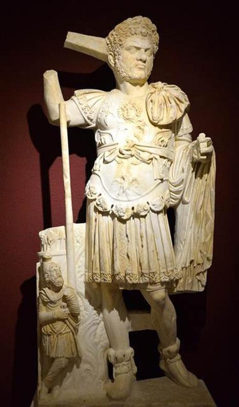 Se expone en Turquía la única estatua completa del emperador romano Caracalla | Centro de Estudios Artísticos Elba | Scoop.it