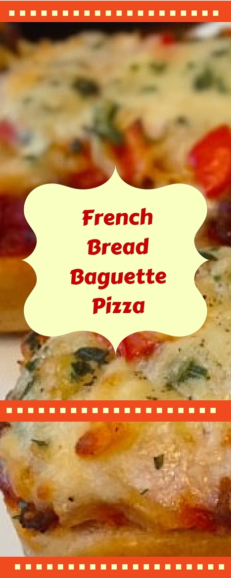 Homemade Pizza on French Bread | Letitia's Foodie Nation | Scoop.it