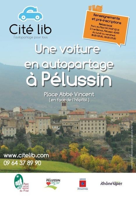Autopartage à Pélussin : une première en zone rurale | Cité lib dans ... | Pays de Condrieu | Scoop.it