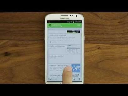 Evernote pour Android reçoit les Reminders | Evernote, gestion de l'information numérique | Scoop.it