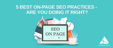 5 Best On-page SEO Practices to Boost Your Rankings! | Education | Scoop.it