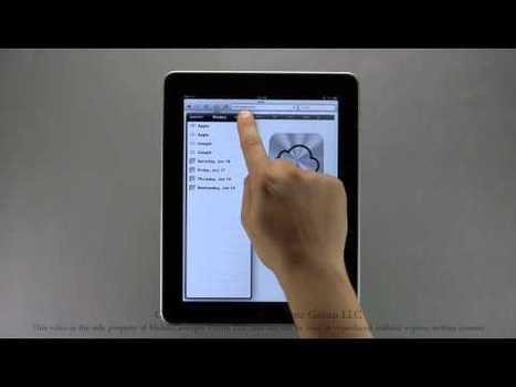 Video Tutorials for iPads from MobileProfessor   iPads in Education   Scoop.it