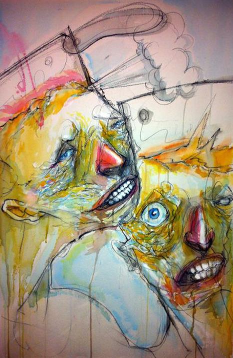 Eleftherios Matthaios / Watercolours - La Fortuna Art   grafisme   Scoop.it