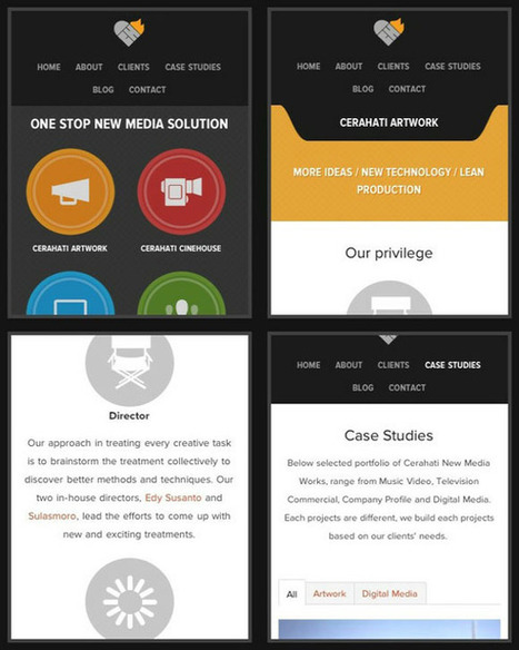 Visual Hierarchy in Mobile Design   Learning Web Design   Scoop.it